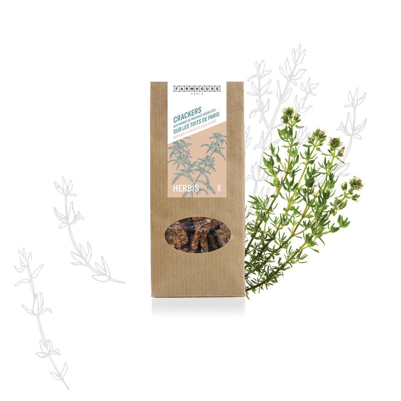 Crackers bouquet d'aromatiques