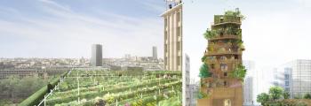 2016 – LAURÉAT DU CONCOURS RÉINVENTER.PARIS : MORLAND MIXITE CAPITALE ET RÉALIMENTER MASSÉNA – Paris 4ème et Paris 13ème
